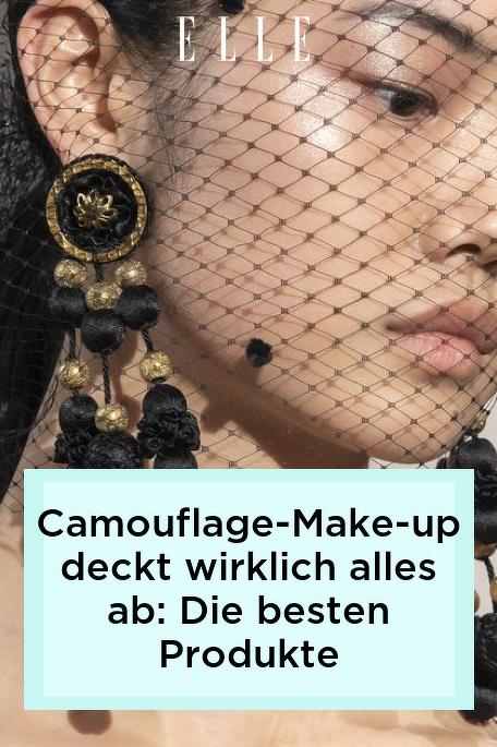 Camouflage-Make-up deckt wirklich alles ab: Die besten