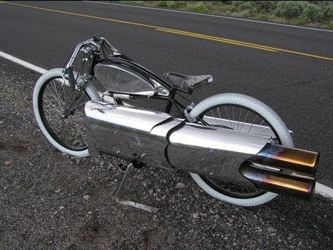 Pulse Jet Board Racer Bicycle Classic Motorcycles Cool