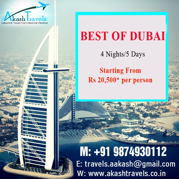 Best Of Dubai 4 Nights/5 Days Website http//www
