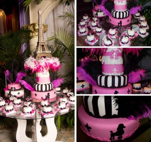Fiesta tem tica de 15 a os una noche en par s http for Decoracion xv anos paris