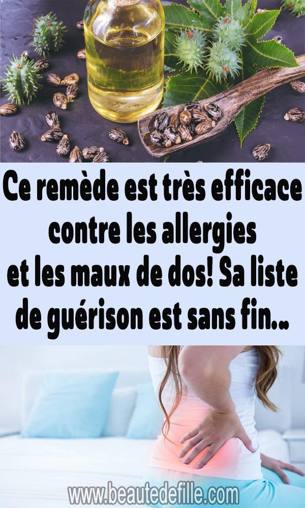 Ce remède est très efficace contre les allergies et les maux de dos! Sa liste …   – remèdes naturels