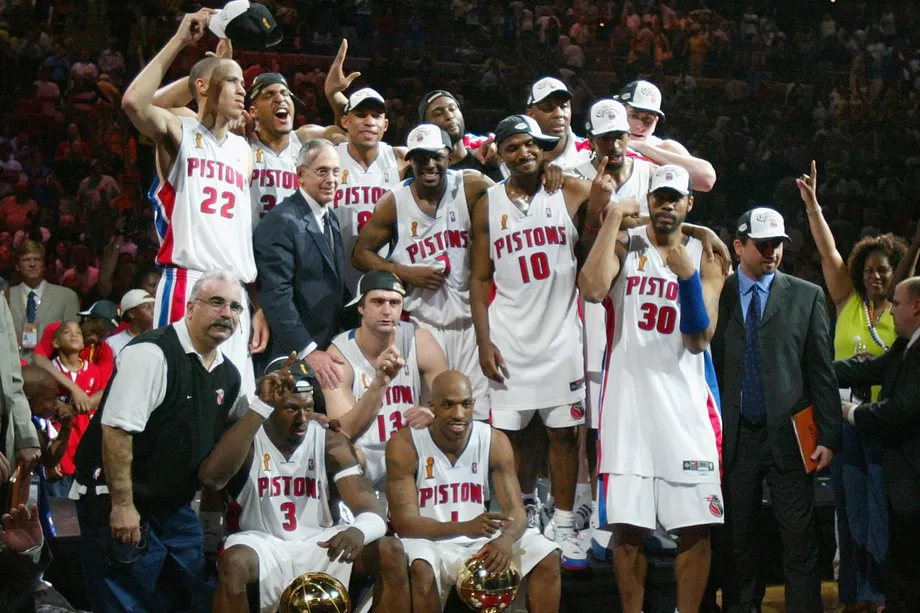 Remembering The 2004 Nba Champions The Detroit Pistons Detroit Bad Boys Detroit Pistons Detroit Pistons Bad Boys Pistons