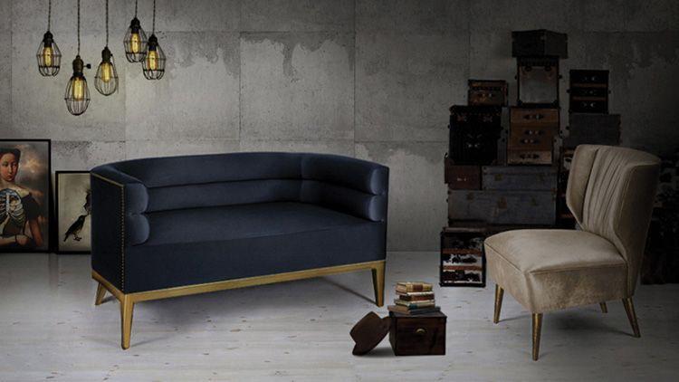 hochwertige möbel| designer möbel | messing beistelltisch, Hause deko