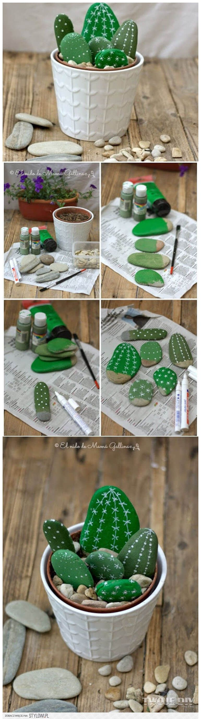 27 creative home improvement ideas with pebbles and river rocks that can be used for your stone collection - home decors