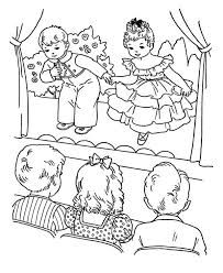 Theatre Coloring Page Coloring Pages Coloring Pages For Girls Colouring Pages