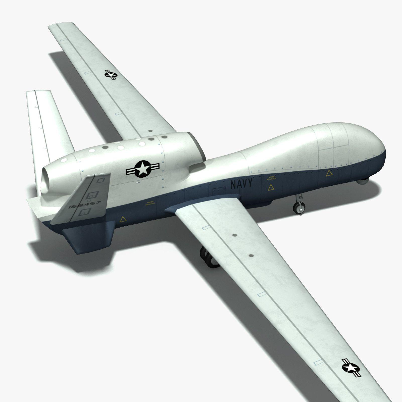 Unmanned Global Hawk 3d Obj 3d Model 3d Modeling Pinterest  # Modele De Table Television