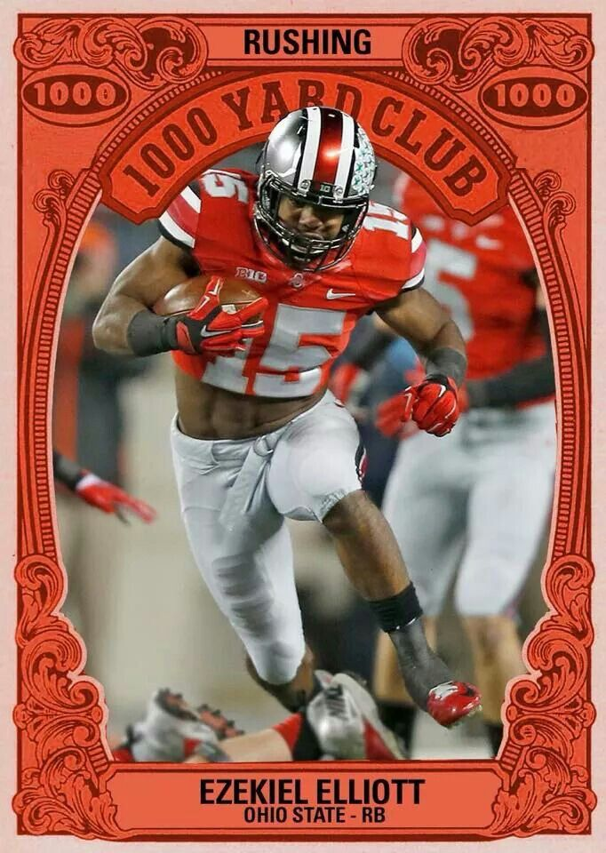 We will pound you and pound you... Ohio state buckeyes