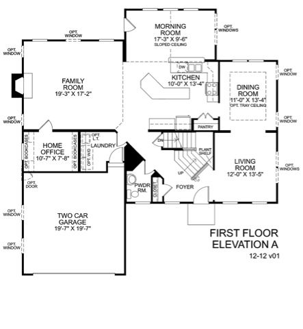 Pin By Samantha Musacchia On Classic Architecture House Floor Plans Floor Layout Ryan Homes