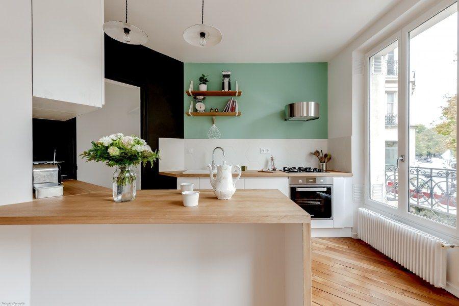 Laura Sarperi - Cuisine ouverte sur salon - séjour (architecture