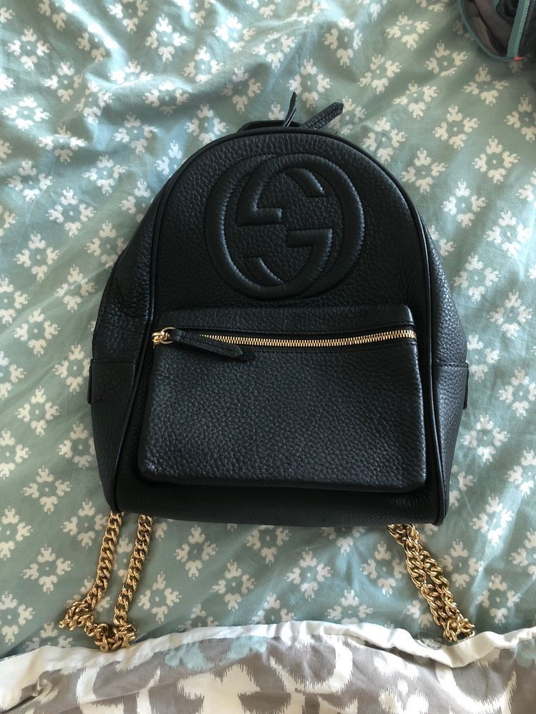 850281371d4 gucci backpack used   360.00 End Date  Saturday Dec-1-2018 9 24 30 PST Buy  It Now for only   360.00 Buy It Now