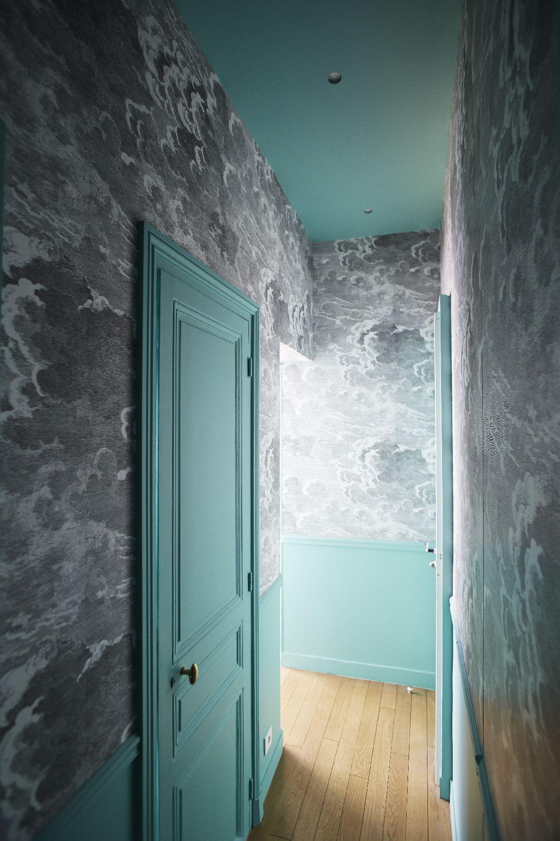 Couloir- Appartement parisien de 150m2 GCG Architectes | Etoile ...