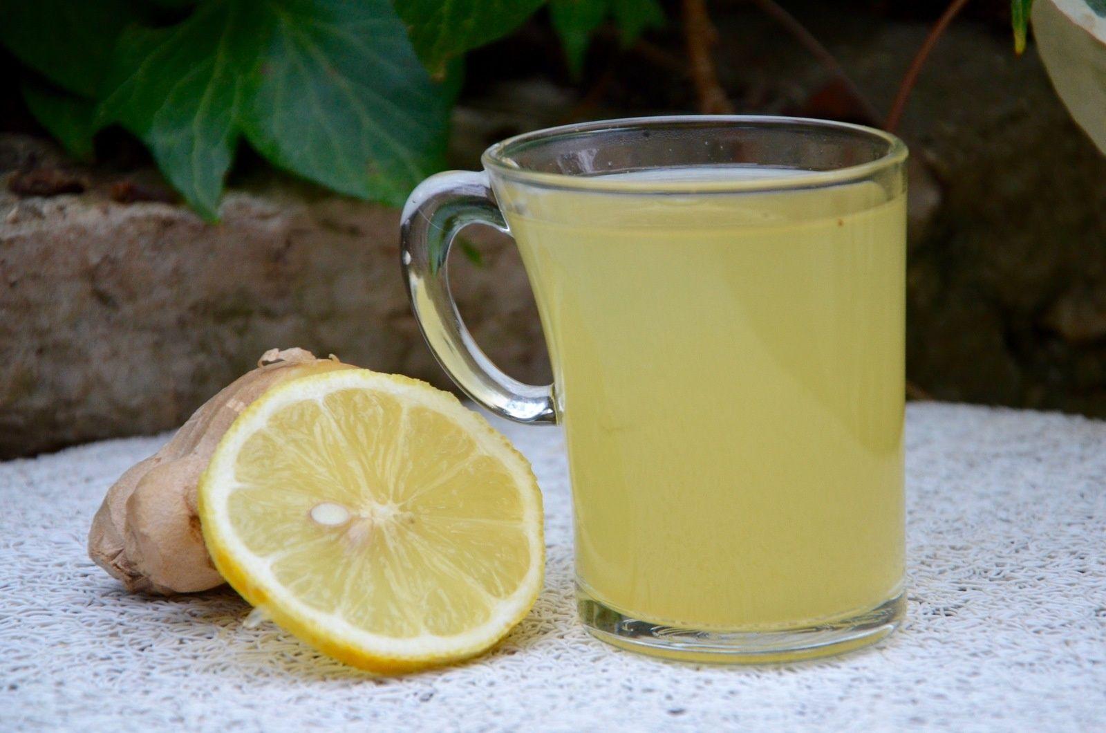 Honey Lemon Ginger Tea | Tisane pour maigrir, Thé au