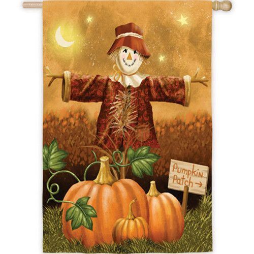 evergreen pumpkin patch for sale double sided house flag fall halloween calabazas oto o. Black Bedroom Furniture Sets. Home Design Ideas