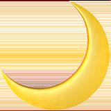 Emoji Moon Png Picsart Ios Iphone Stiker
