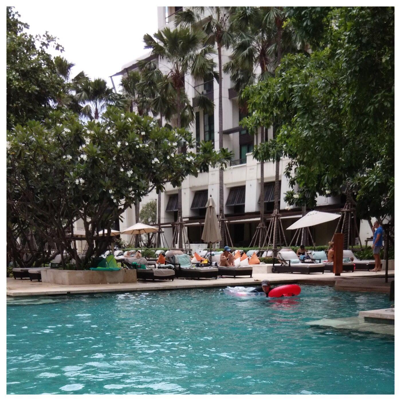 kempinski residences siam garden suite pool http www