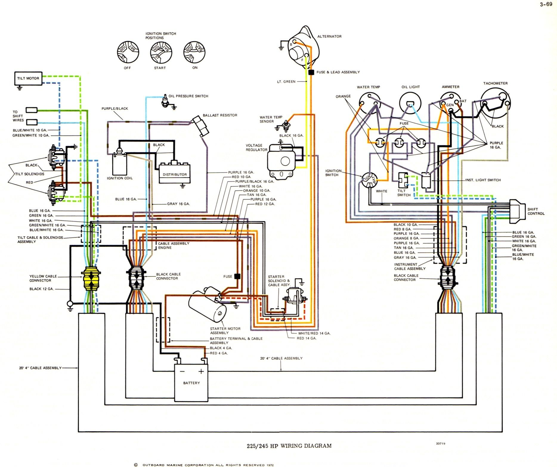 Yamaha Outboard Electrical Wiring Diagram With Images