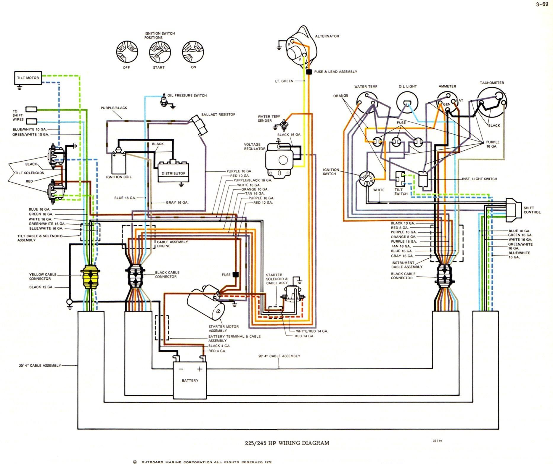 Yamaha Outboard Electrical Wiring Diagram | WiringDiagram