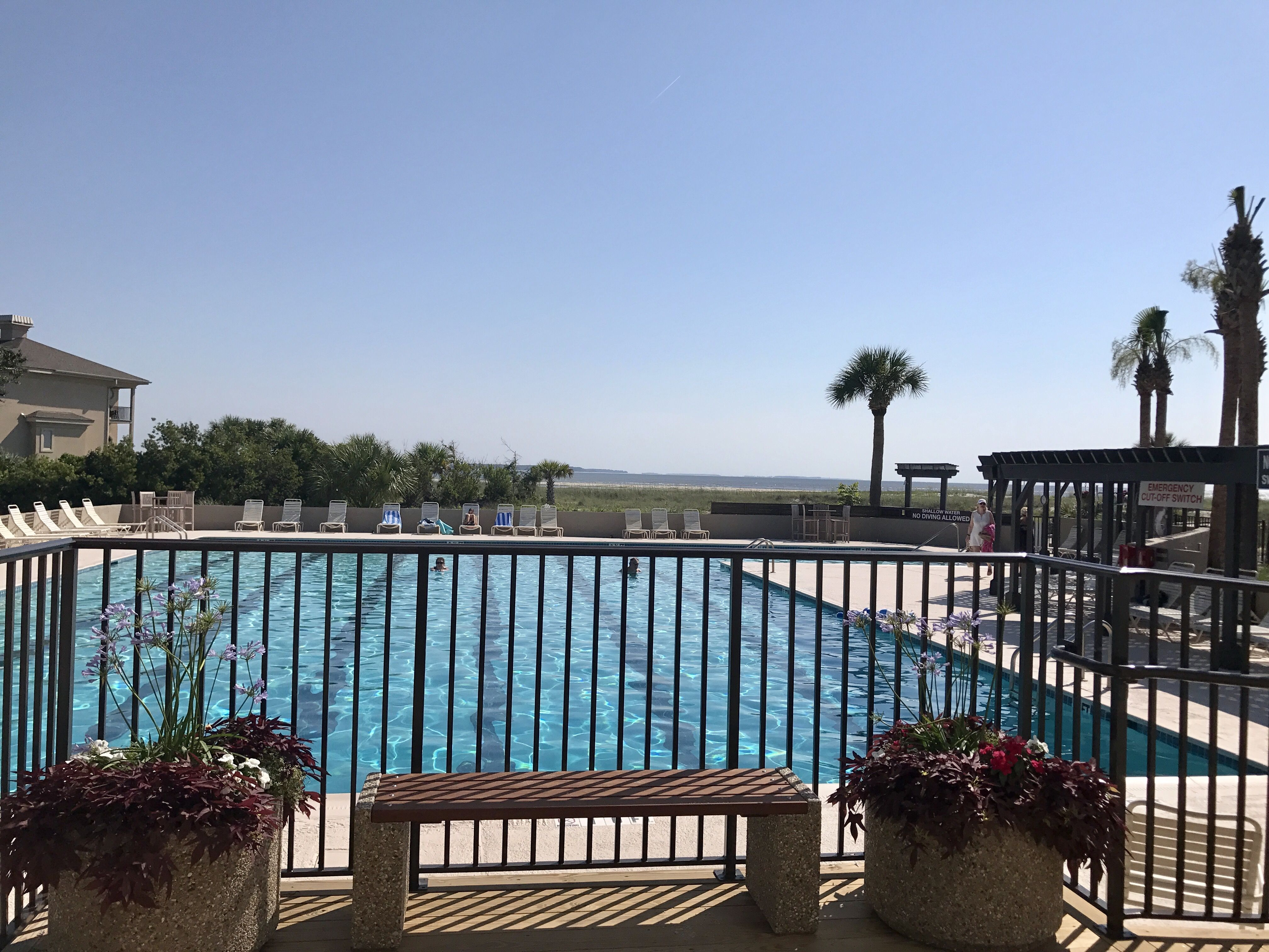 Port Royal Plantation Community Beach House Olympic Size Pool Located Mid