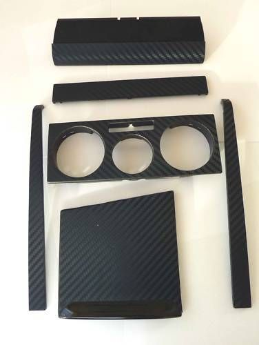 3d Carbon Fibre Effect Black Radio Console Trim To Fit Vw Golf Mk4 Borra R32 Tdi Ebay Cosas De Coche Accesorios Vw Jetta A4