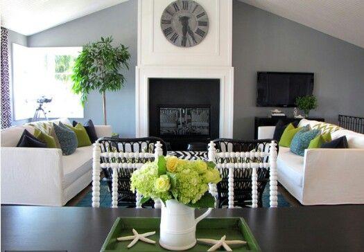 Living room color idea / Houzz Home Pinterest Room colour