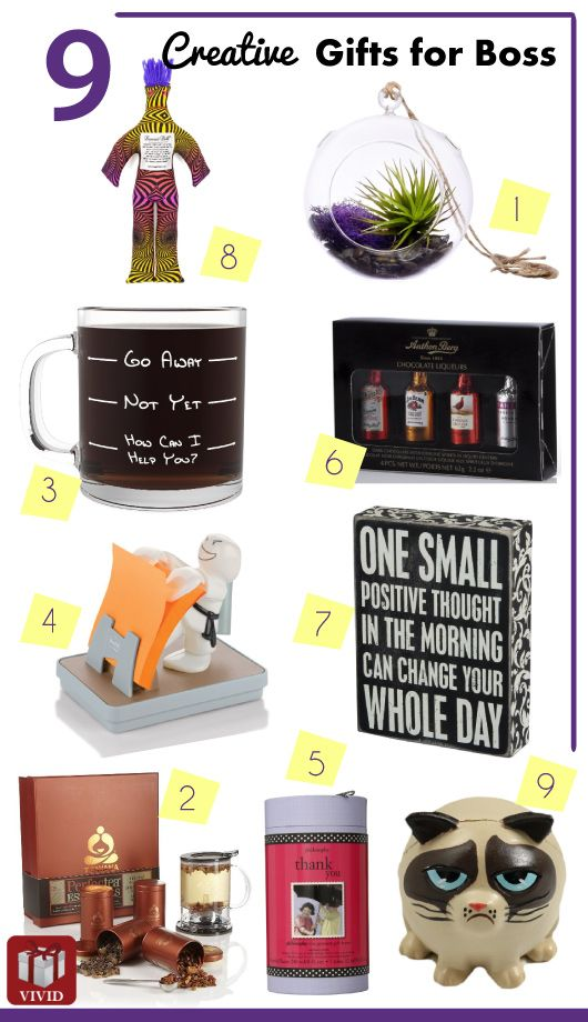 List Of 9 Good Gift Ideas For Boss Gift Ideas Gifts