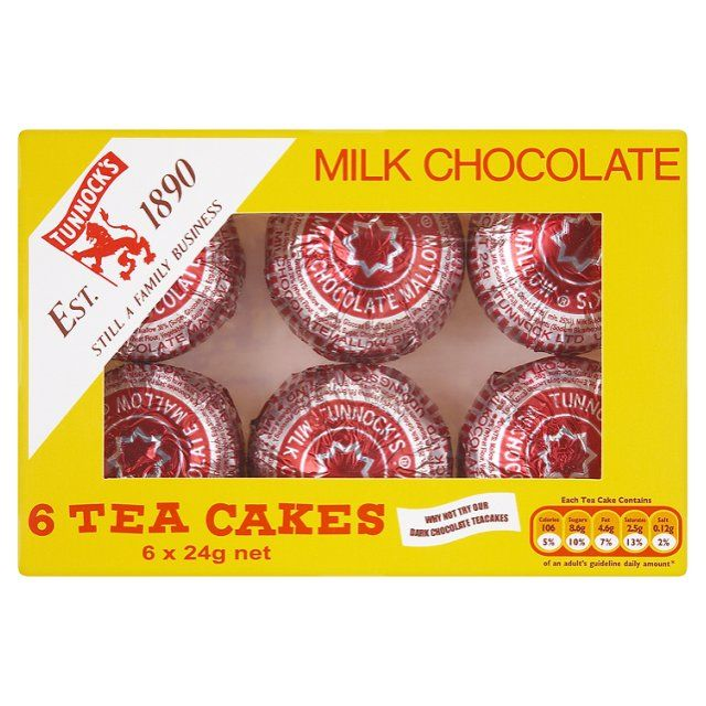 Tunnock S Tea Cakes Tunnocks Tea Cakes Tea Cakes Chocolate Tea Cake