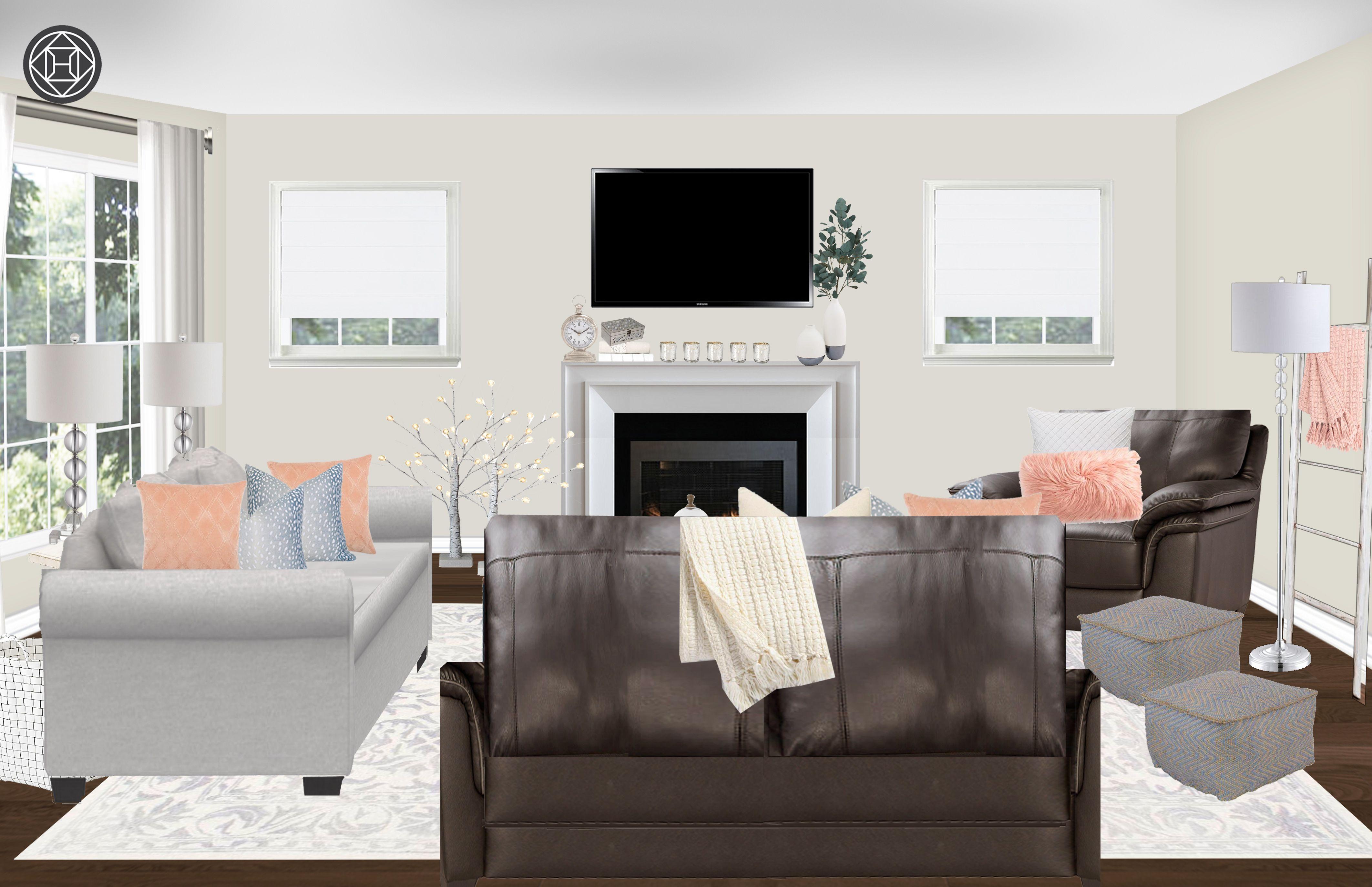Classic Living Room Design By Havenly Interior Designer Vivian