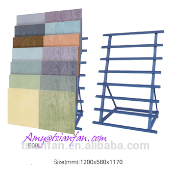 China Retail Stores Simple Ceramics Flooring Tile Display Rack