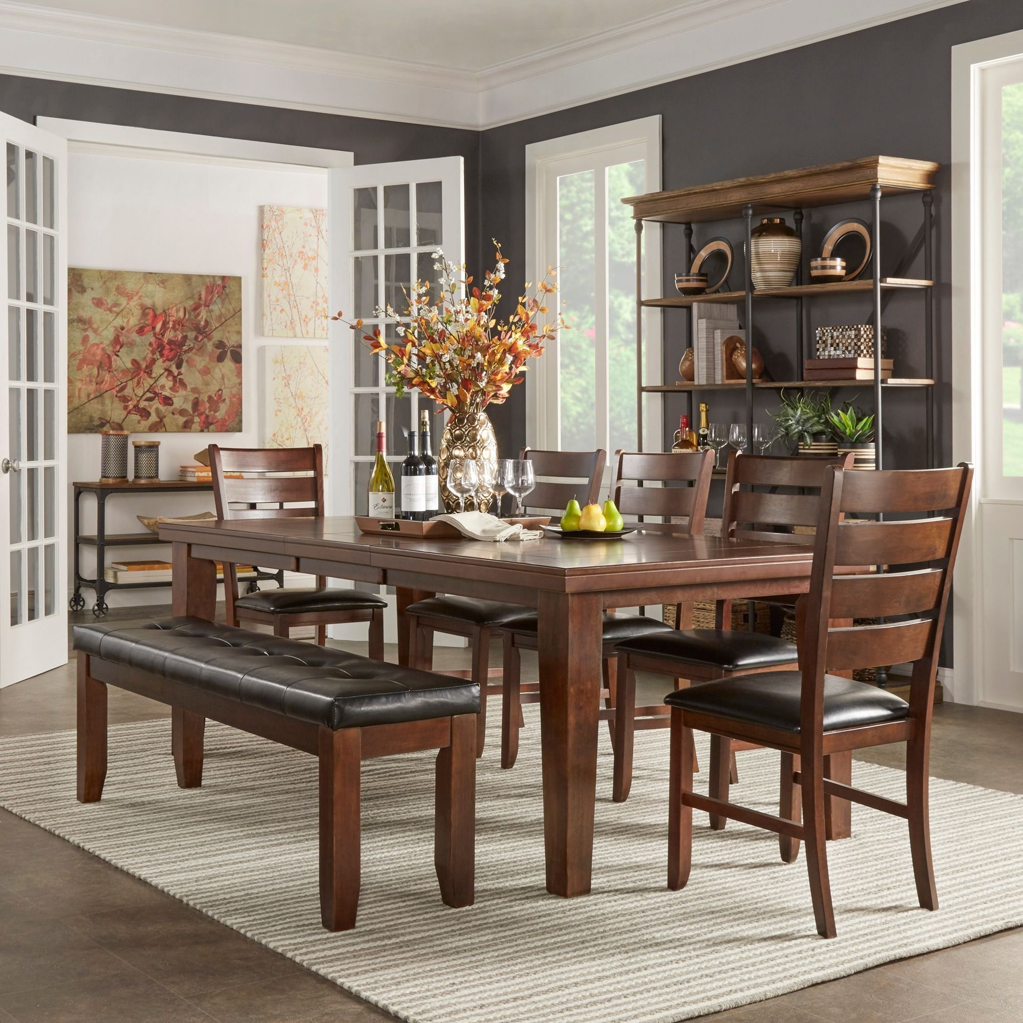 Overstock Com Online Shopping Bedding Furniture Electronics Jewelry Clothing More Elegant Dining Room Small Dining Room Set Dining Room Design Modern