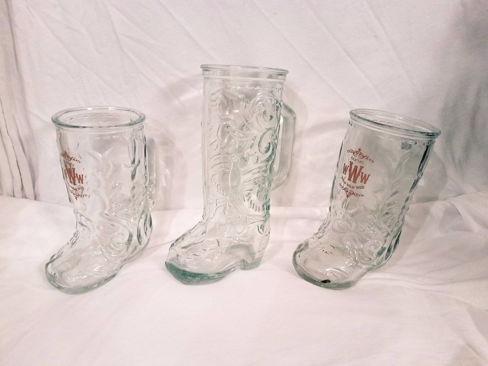 Western cowboy boot glass beer mugs coffee mugs pinterest western cowboy boot glass beer mugs floridaeventfo Images