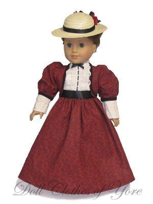 Edwardian Era Dress (1900-1910) | Dolls | Pinterest