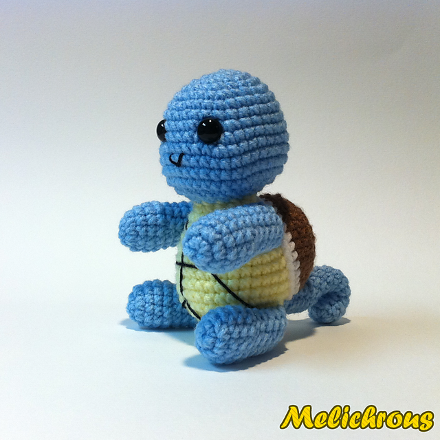Squirtle Pokemon Character (also Charmander and Bulbasaur) ~ Free ...