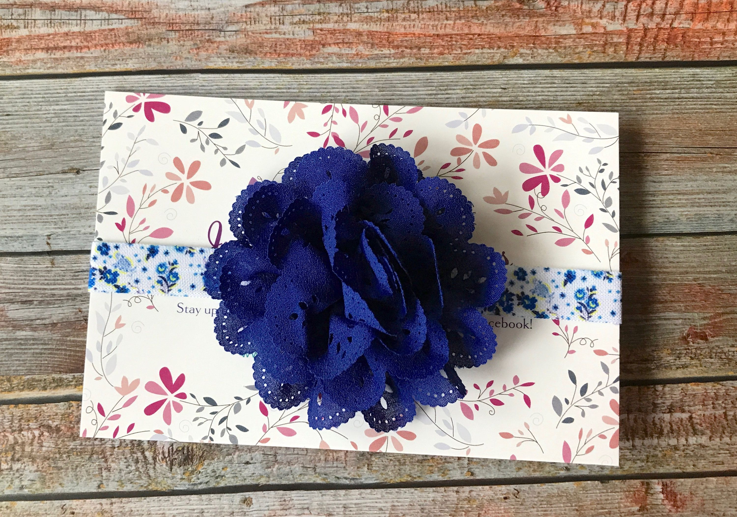 Baby Headband/Royal Blue Headband/Newborn Headband/Baby Girl Headband/Royal Blue/Baby Headbands/Headband/Infant Headband/Blue Baby Headband by JuliaGraceDesigns1 on Etsy