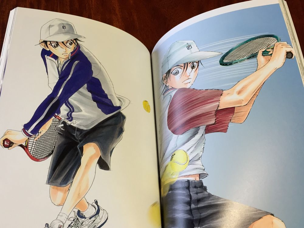 Anime Manga The Prince Of Tennis Illustrations Takeshi Konomi Artbook F S