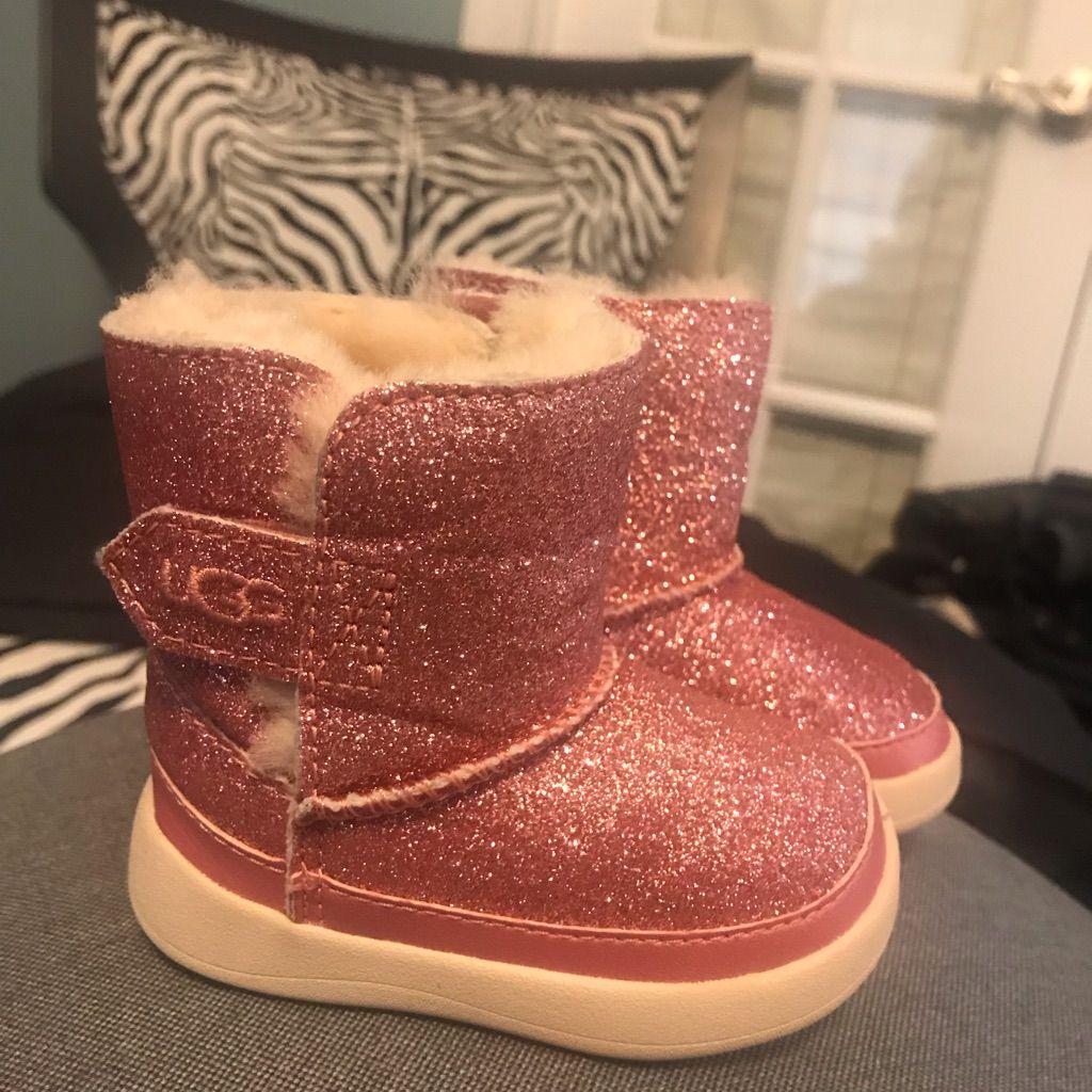 glitter baby uggs