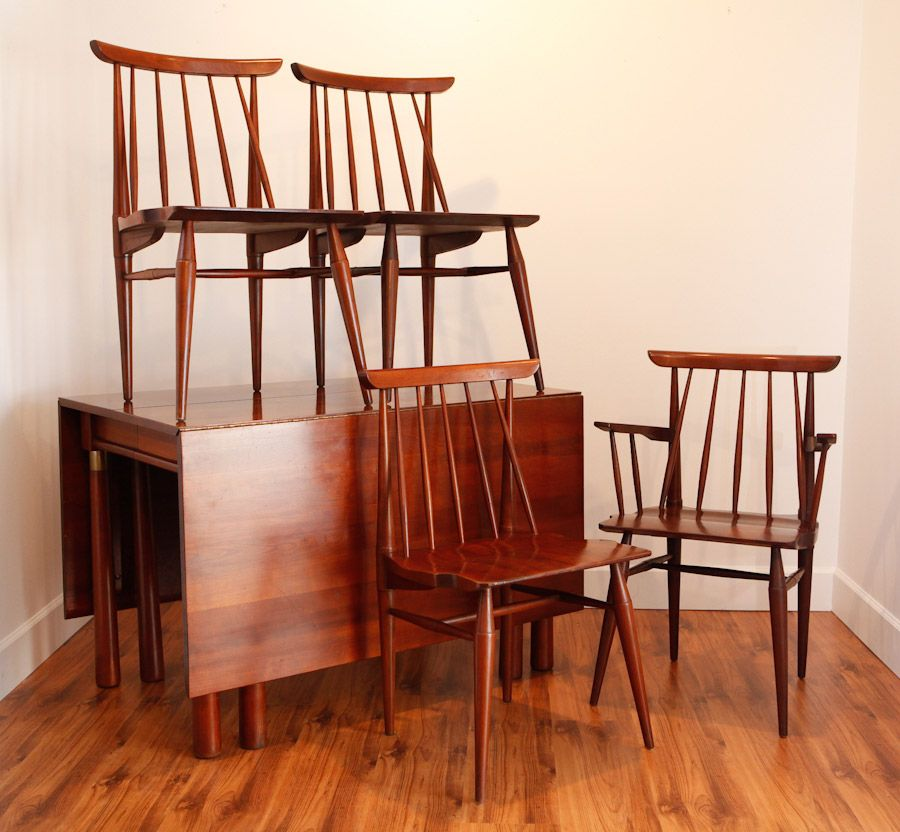 Possibly the most unusual mid century dining set you might
