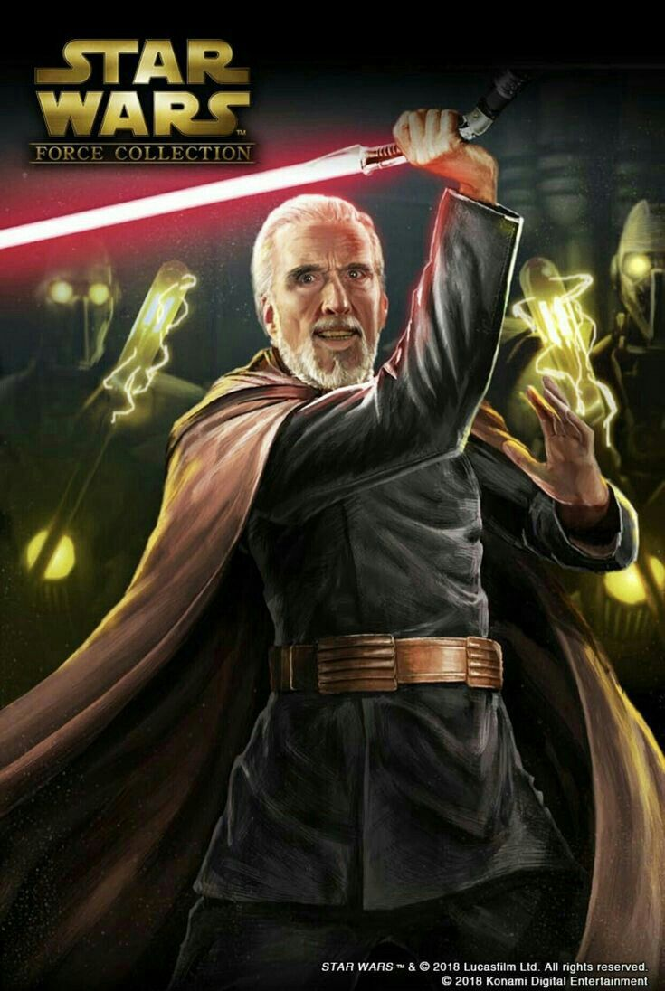 Count Dooku Star Wars Force Collection Star Wars Star Wars Images
