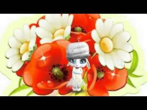 ZOOBE зайка. Поздравление Подруги с Днём Рождения - YouTube
