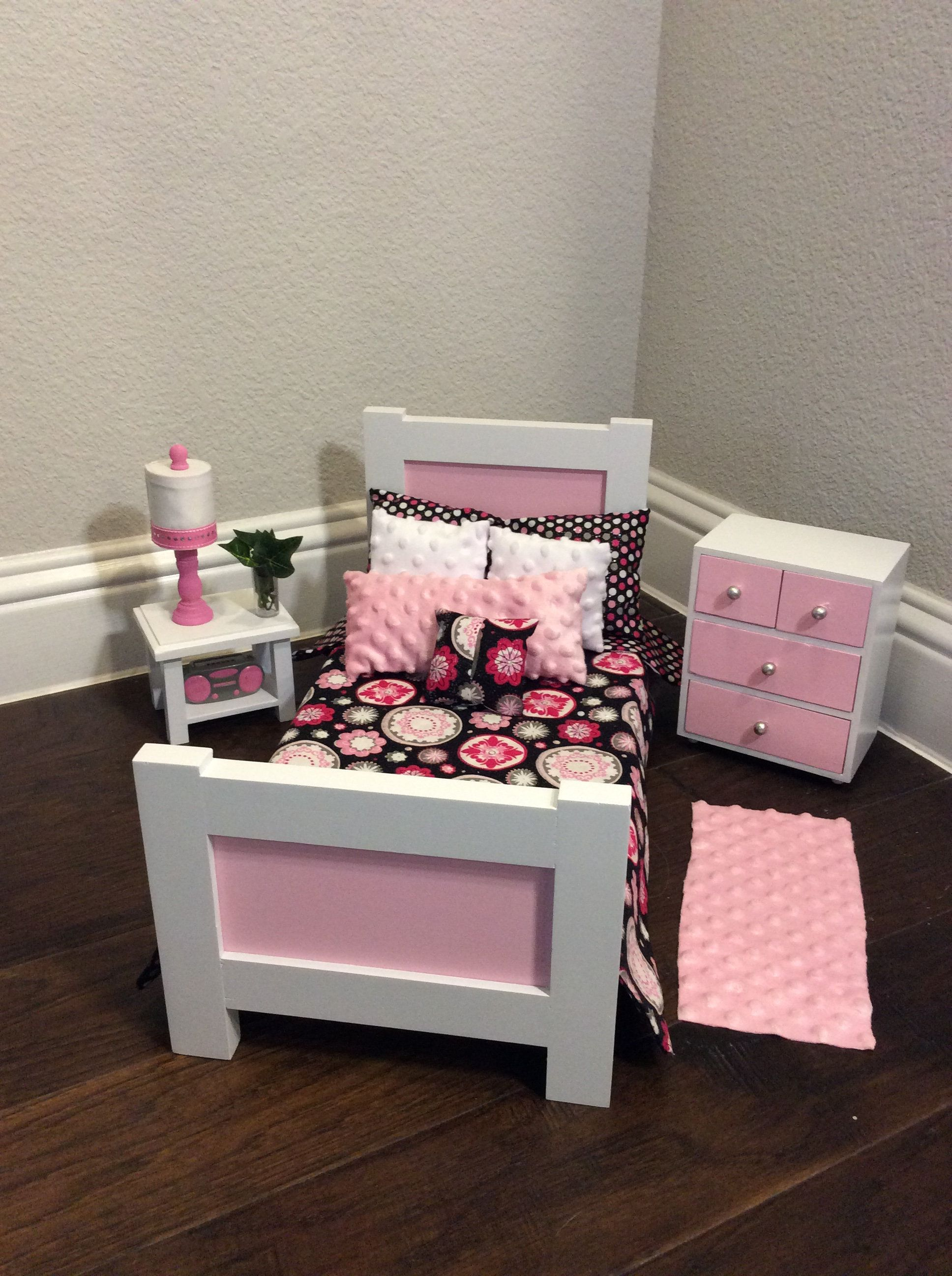 Sweet Dreams Bed Collection American Girl or any 18 inch