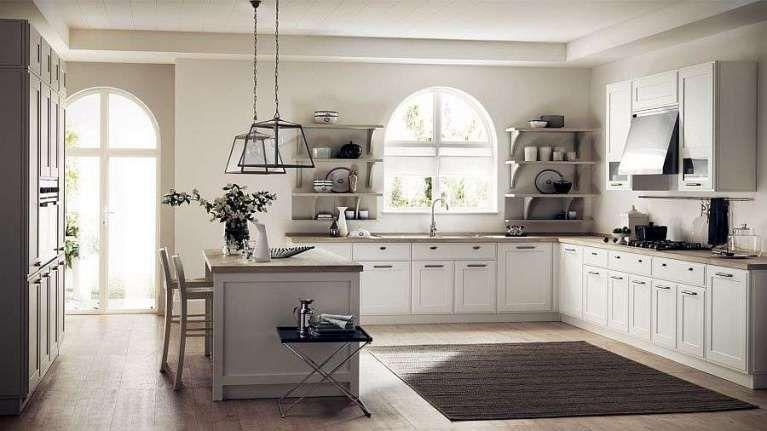 Arredare la cucina in stile country chic - Cucina dai materiali ...