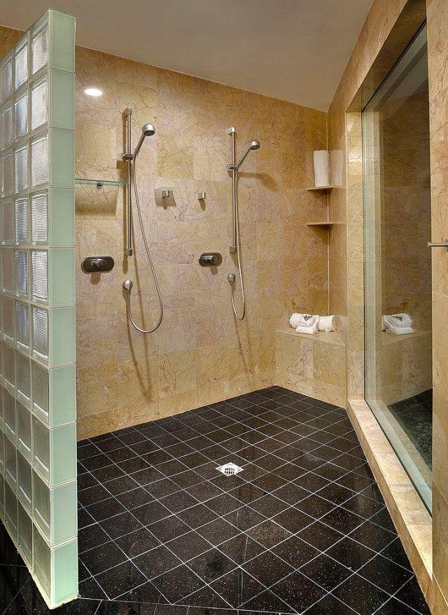 Résultat de recherche du0027images pour  - carreaux de verre pour salle de bain