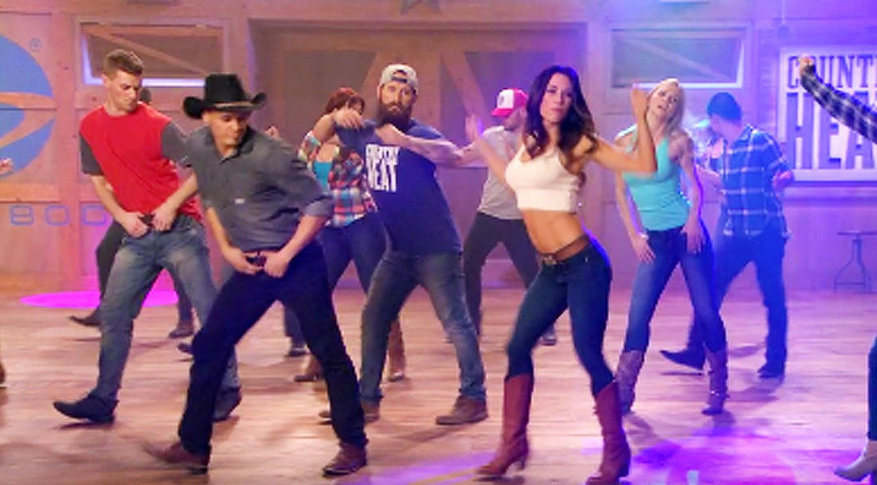 Sexy Country Line Dance Will Have You Kickin' Up The Dust