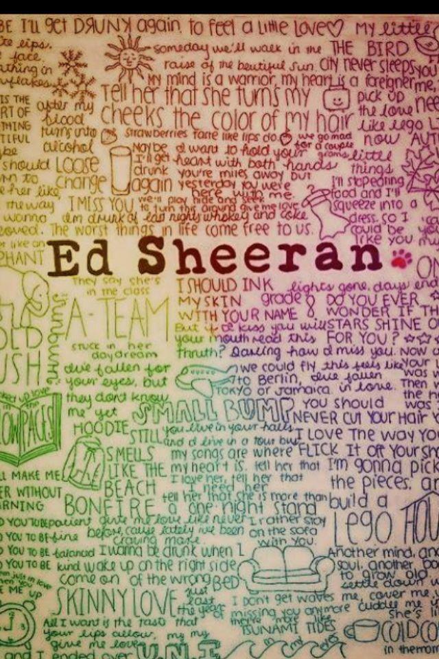 Ed Sheeran (With images) Ed sheeran lyrics, Feelings, Ed