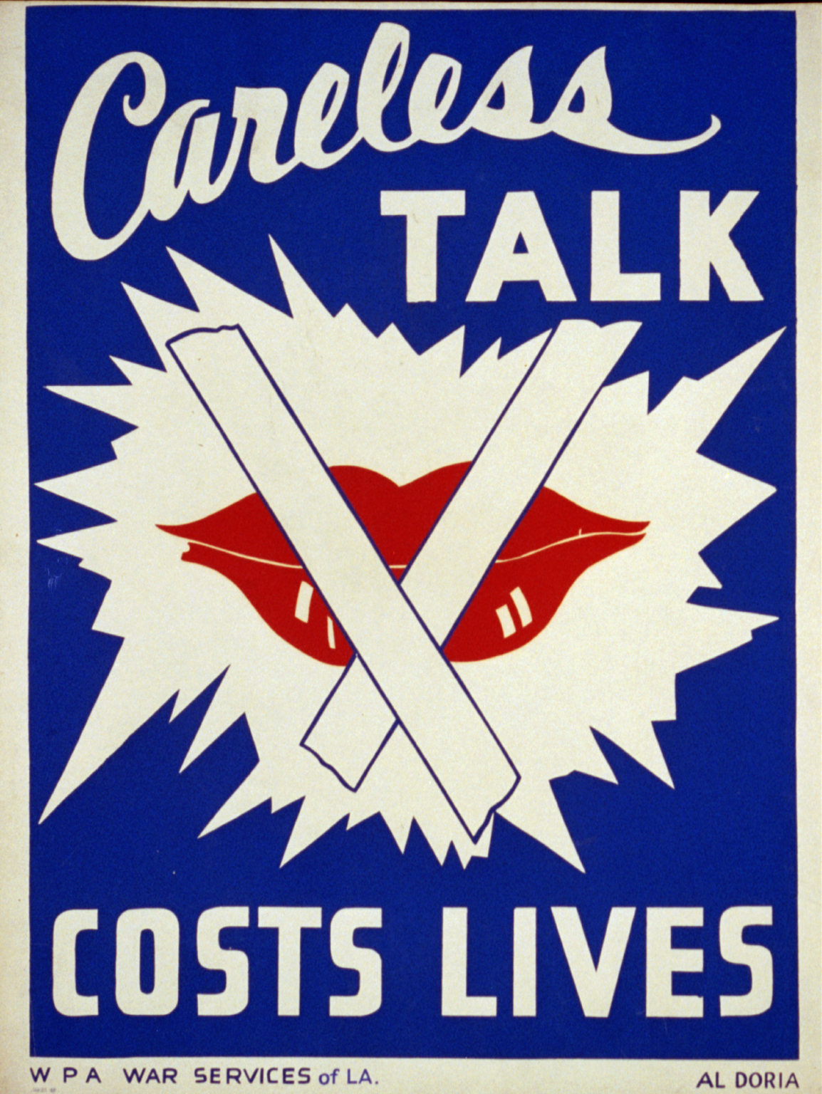 Careless Talk Costs Lives Us 1943 Propaganda Posters Propaganda Life