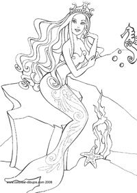 barbie coloring pages # 46