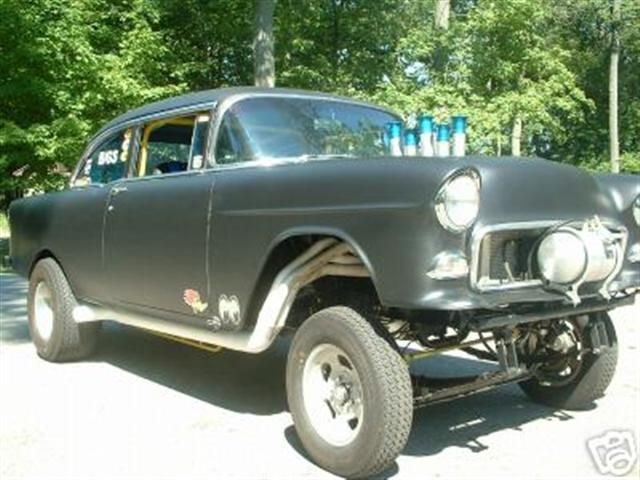 55 Chevy Gasser Classic Cars Muscle 55 Chevy