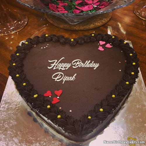 The Name Dipak Is Generated On Happy Birthday Images Download Or