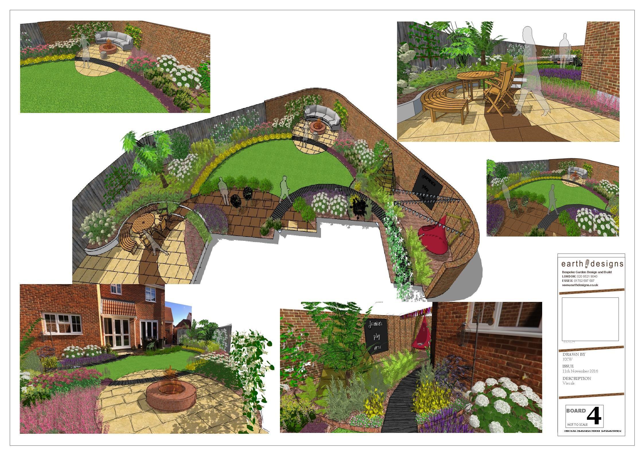 Garden Design Leigh on Sea Garden Landscaper Southend Es ... on symmetrical garden design, linear garden design, vertical garden design, asymmetrical garden design, rectangular garden design,