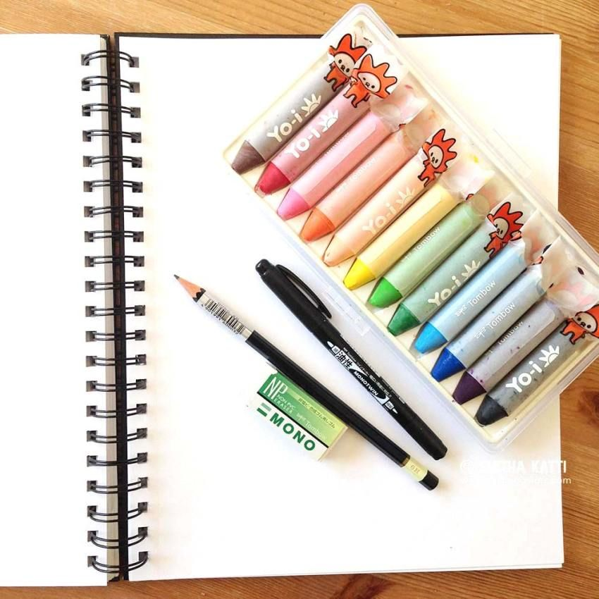 How To Use Watercolor Crayons Video Oil Pastel Crayons Crayon