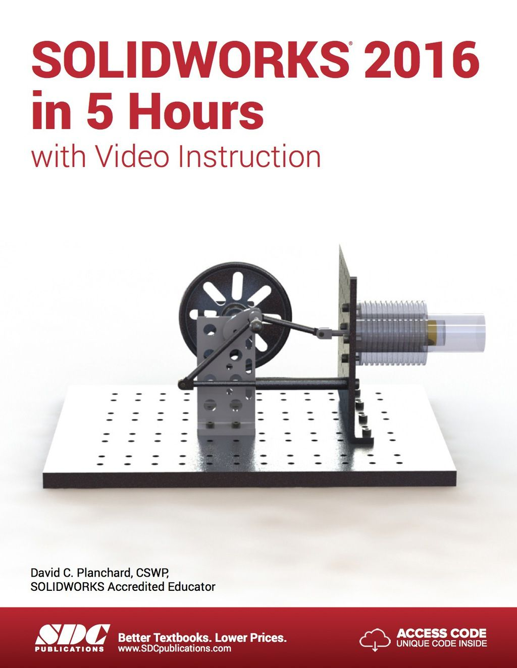 Solidworks 2016 In 5 Hours With Video Instruction Ebook Courseware Solidworks Instructional Video Easy Lessons
